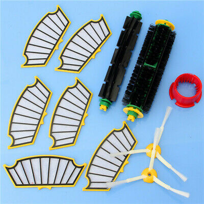 11pcs Vacuum Cleaner Accessories Kit Filters and Brushes for iRobot Roomba 500 S