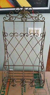 Nyc Vintage Apartments Ac Unit Scroll Wrought Iron Cover Outside
