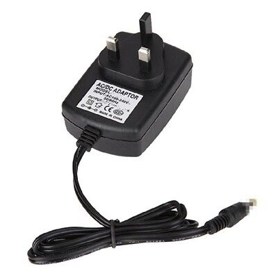 12V Mains AC-DC Power Charger for Wharfedale WDM-6970 Portable DVD Player GM