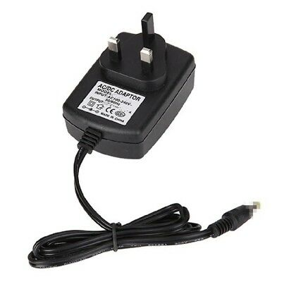 Mains12V AC-DC Adapter Power Supply Plug for PSR-275 - Portable Keyboard GM