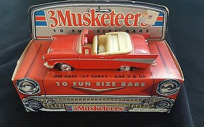 3 Musketeers Candy Bar Advisement 57 Chevy Scale 1/48
