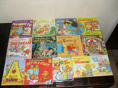 LOT OF 13...BERENSTAIN BEARS by STAN & JAN BERENSTAIN...CHILDREN BOOKS