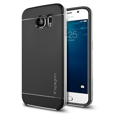 Neo Hybrid Case Cover For Samsung Galaxy S6 Silver