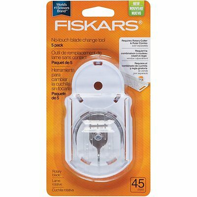 Fiskars No-Touch Blade Change Tool White - 5 pack  RRP $79.99