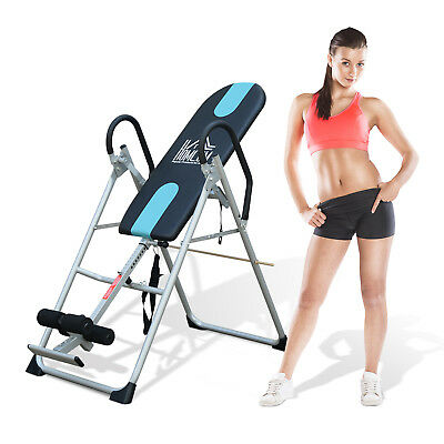 New Gravity Inversion Table Premium Foldable Fitness Steel Hang Exercise Bench