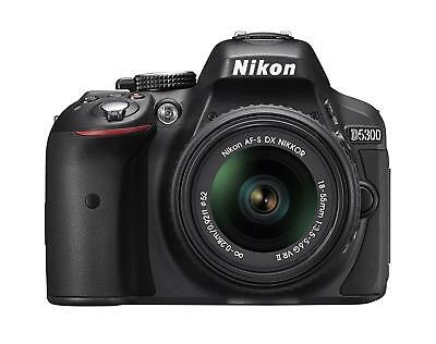 Nikon D5300 24.2 MP CMOS Digital SLR Camera with 18-55mm f/3.5-5.6G ED VR...