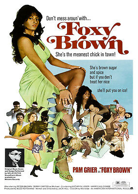 Foxy Brown (1974) - A2 POSTER ***LATEST BUY 1 GET 1 FREE OFFER***