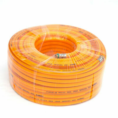 50m PVC High Pressure Weed Spray Hose 8.5mm ID Pest Control Sprayer