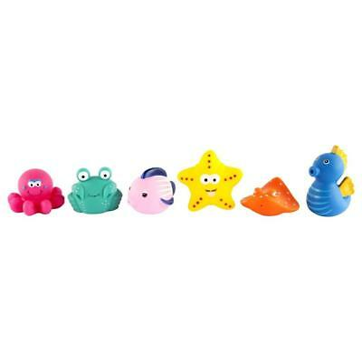 NEW Sunnylife Bath Squirters Sea Life Set 6 - Baby Bath Toys