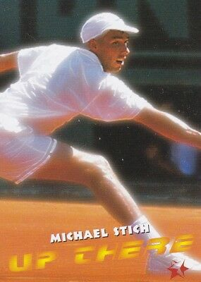 1997 Intrepid Tennis Trading Card #14 Michael Stich Germany