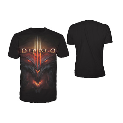 Diablo - All Over Face T-Shirt