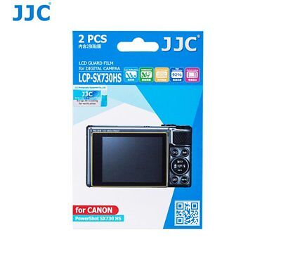 JJC LCP-SX730HS LCD Screen Protector Guard Film for CANON PowerShot SX730 HS