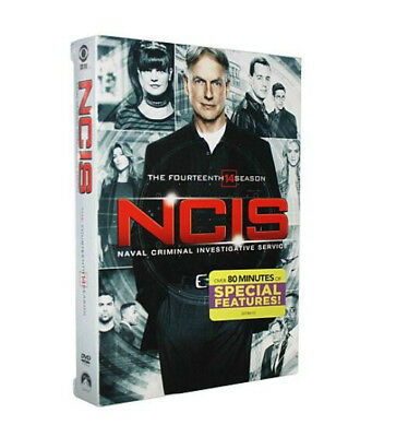 Ncis Season 14 (DVD, 2017, 6-Disc Set) Brand New Sealed Free shipping
