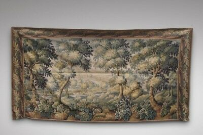 An Exceptionally Large Antique Continental Tapestry