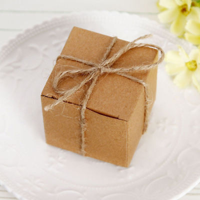 LOTS WHOLESALE Wedding Candies Box Case Wrapping Pastry Vintage Kraft Paper