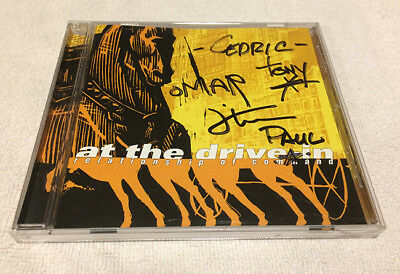 At The Drive-In's Relationship of Command CD Signed Mars Volta Sparta Omar