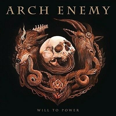 Arch Enemy Will To Power CD  Deluxe Edition New With Bonus track