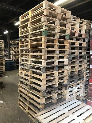 Euro Pallets.  Several available all grades
