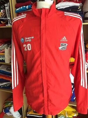 Jacke ODDS BK ODD Grenland (L) Norwegen Norway Adidas Response Jacket Issue