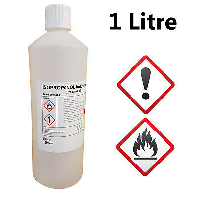 1L IPA Isopropyl Alcohol/Isopropanol (99%) | 1 LITRE | Lab Quality | MADE IN UK