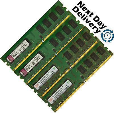 Memory Ram Desktop PC DDR2 PC2 6400 U 800 MHz 240 pin DIMM Non ECC GB 2 x Lot
