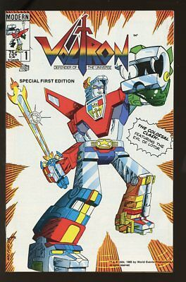 VOLTRON DEFENDER OF THE UNIVERSE #1 VF/NM 1985 MODERN bin-2017-0984