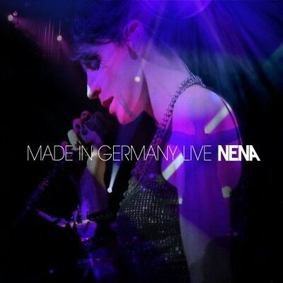Nena - Made In Germany-Live 2 Cd Deutschpop New+