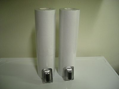 White Labels for Garvey 18-6 single line Price Gun ,22rolls / 2 inkers.