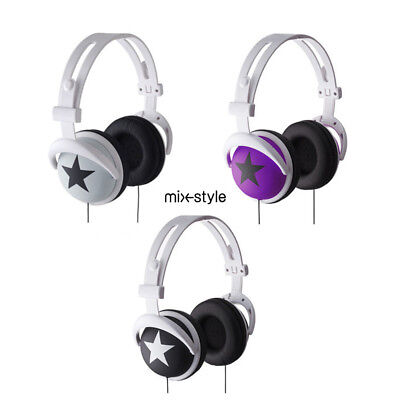 Auriculares Cascos Plegable OnEar PARA Música PC MP3 Movil SAMSUNG IPHONE 3.5mm