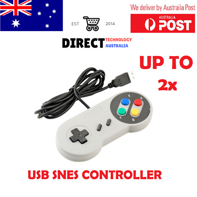 Super Nintendo SNES USB Controller GAME PAD For PC Mac Raspberry Pi Retropie emu