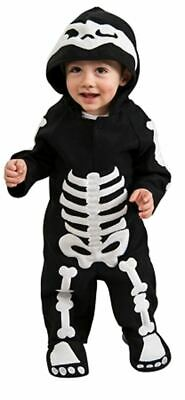 Skeleton Baby Costume Headpiece and eZ-on Romper