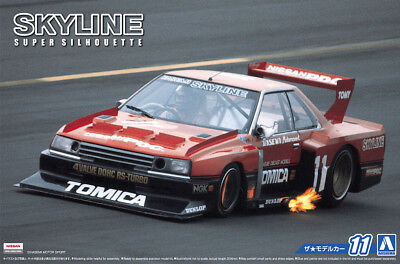 1982 Nissan Skyline Super Silhouette 1:24 Model Kit Bausatz Aoshima 051627