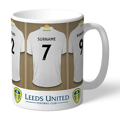 Personalised LEEDS UNITED Football Club FC Dressing Room Mug Gift