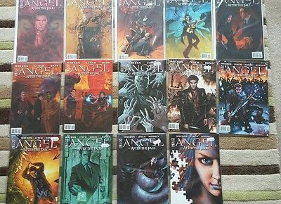 Buffy comic. Angel - After the fall  Issue 1-14 mint IDW