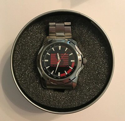 Saleen Logo Stainless Steel Watch The Pedre Collection