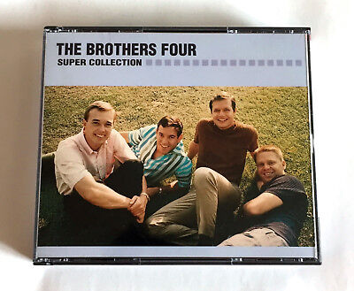 THE BROTHERS FOUR Super Collection JAPAN 2CD FCCP-40309/10 Mail Order Only L/E