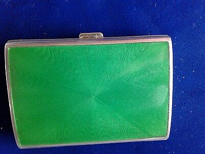 Sterling Silver Card Case