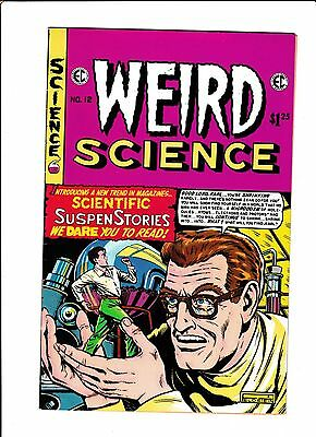 E.c. Classic Reprint  [1975 Vg-Fn]  Weird Science #12