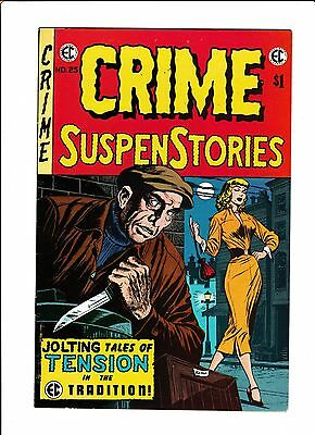 E.c. Classic Reprint  [1974 Fn+]  Crime Suspenstories #25