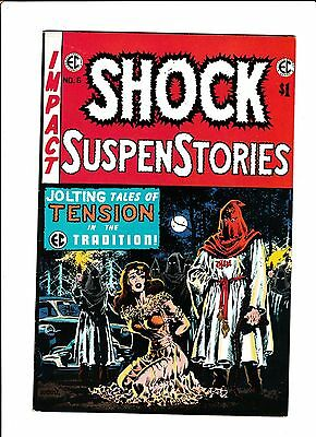E.c. Classic Reprint #6  [1974 Vg-Fn]  Classic Cover!  Shock Suspenstories