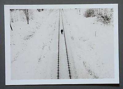 Alex Majoli Limited Edition Photo 24x17cm Cesis Litauen 2004 (für Magnum) Schnee