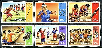 Tokelau 1983 Traditional Pastimes MNH