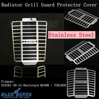 Radiator Grill Guard Protector Cover For Suzuki Boulevard M109R / VZR1800 06-14