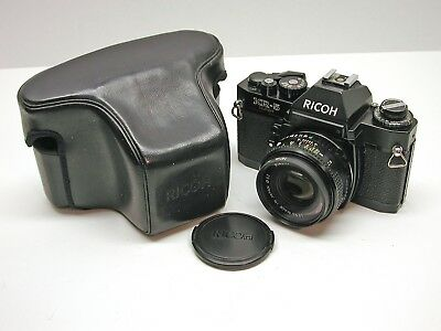 Ricoh Kr-5 Super With 50Mm Lens..case..looks And Works Great..