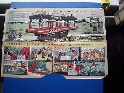 Eagle Comic Cutaway  9/3/1951  The Creed Salvage Ship