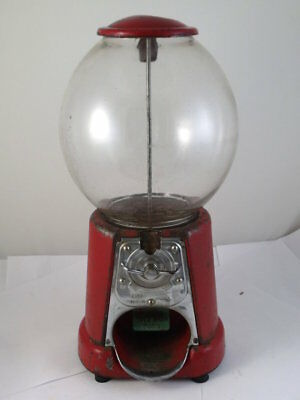 Old Advance Big Mouth Peanut gumball Machine c 1920