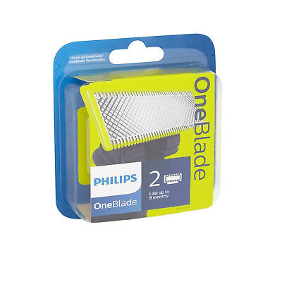 PHILIPS ONEBLADE ( One Blade ) Replaceable Blade Head Wet & Dry - 2 Blades