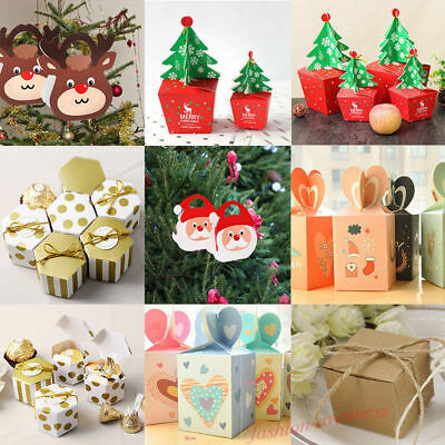 Wholesale Apple Packing Gift Boxes Christmas Eve Candy Cases Wrapping DIY Gift