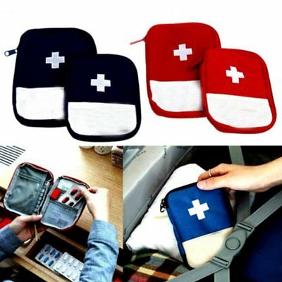 Mini First Aid Medical Kit Portable Travel Outdoor Small Medicine Storage Bag