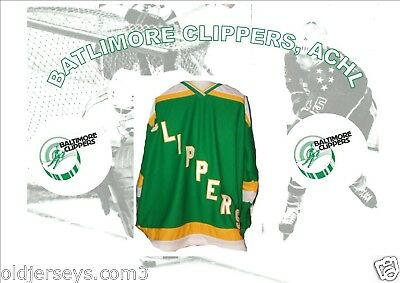 ACHL Baltimore Clippers Replica Hockey Jersey Road